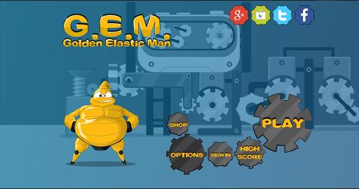 GEM 3100 - Golden Elastic Man