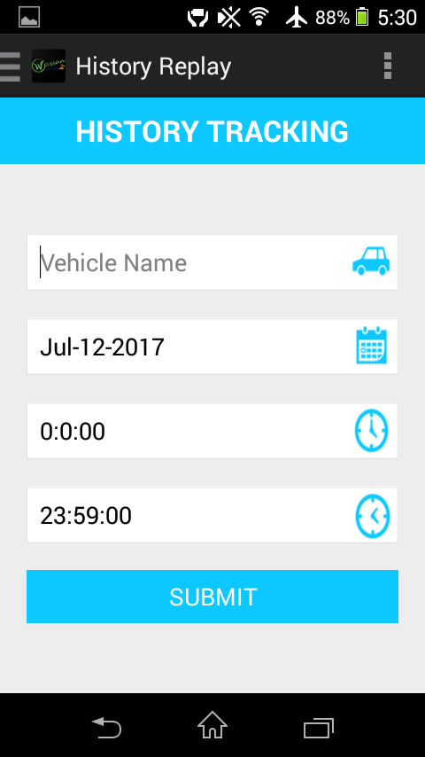 Wassan Gps Tracker- screenshot