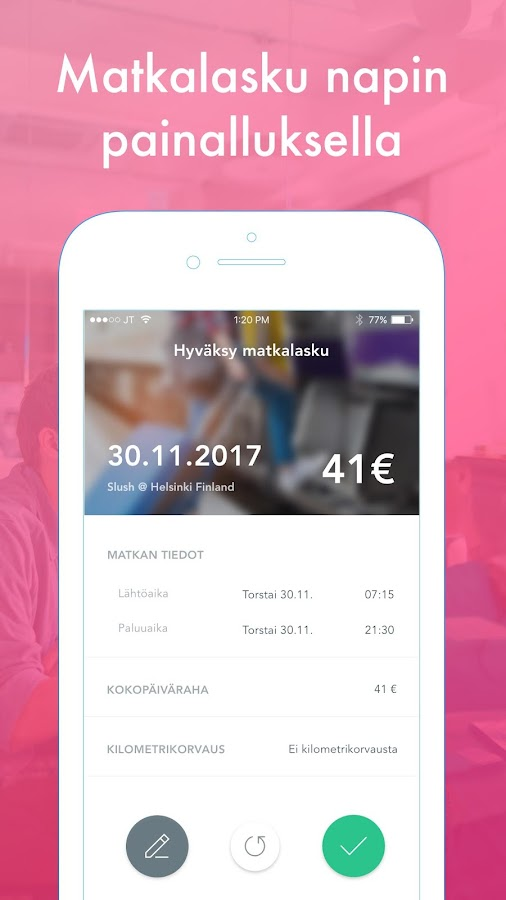Tripper: Fast receipt handling and travel expenses- screenshot
