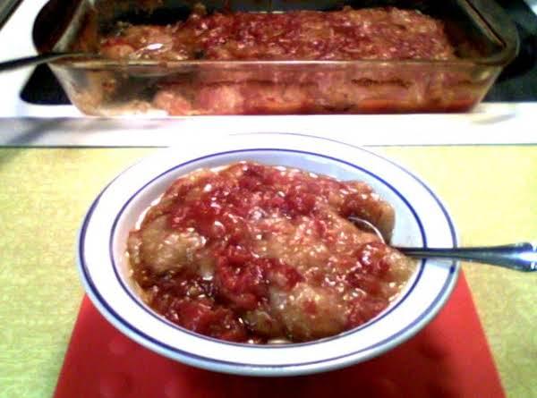 Sweet Tomato Casserole Recipe