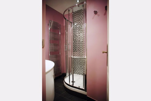 Bathroom at 2 Bedroom Apartment in Louvre Near Seine