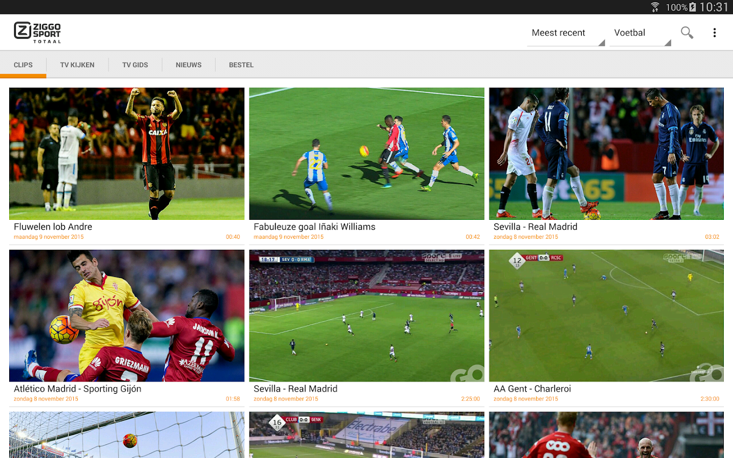 Ziggo Sport Totaal - Android Apps on Google Play