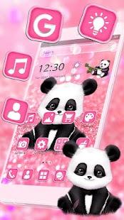 Pink Giant Panda Theme - náhled
