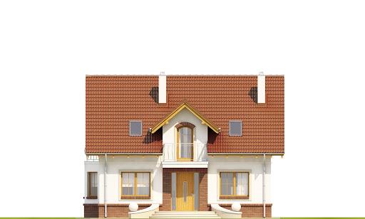 Dom Dla Ciebie 1 w3 bez garażu B - Elewacja przednia