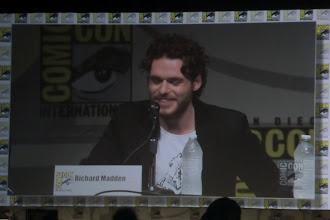 Photo: Friday - Game of Thrones panel; star Richard Madden