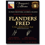 De Proefbrouwerij/Hair Of Dog Flanders Fred