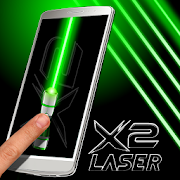 App Laser Pointer X2 (PRANK AND SIMULATED APP) APK for Windows Phone