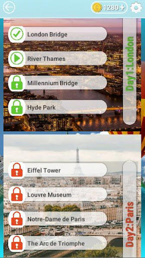Word Travel:World Trip with Free Crossword Puzzle  screenshots 5