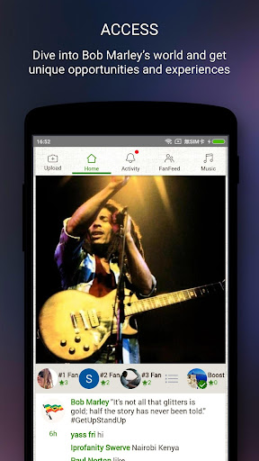 Bob Marley Official Music 1.9422.0001 screenshots 2