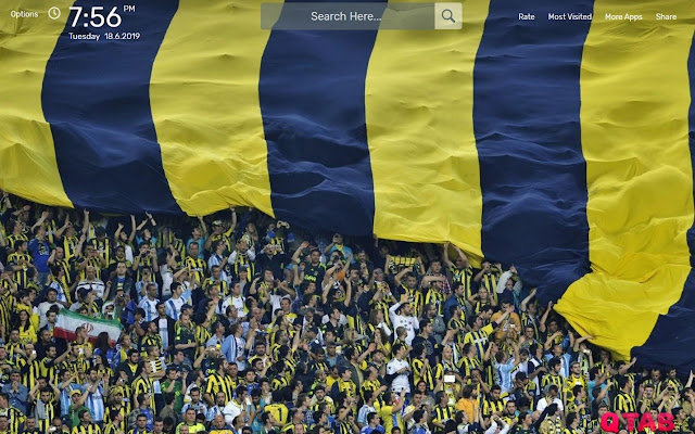 Fenerbahce Wallpapers New Tab Theme