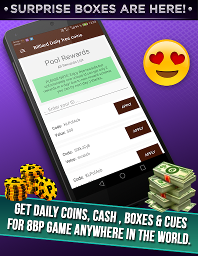 Daily instant Rewards unlimited coins & cash for PC