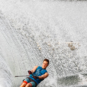 Man-made waves by Eric Wang - Sports & Fitness Watersports ( water, ski, pwcwatersports, waves )