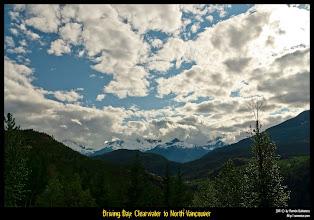 Photo: Llegando a la zona de Whistler Blackcomb.