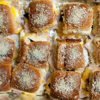 Jalapeno Popper Baked Turkey Sliders