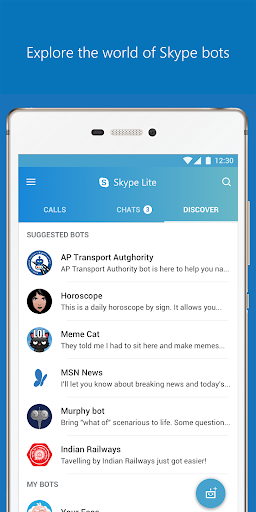 Skype Lite - Free Video Call & Chat screenshot 7
