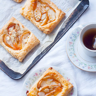 Spiced Pear and Early Grey Tartlets