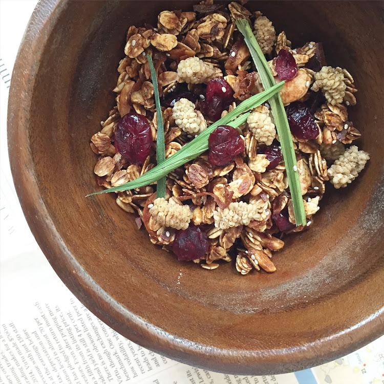 Salted Gula Melaka Granola (250g)