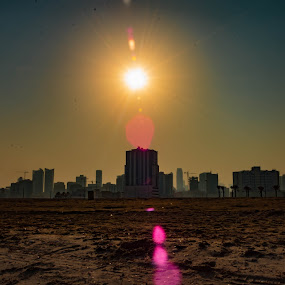 Cityscapes by Rahul Trivedi - City,  Street & Park  Skylines ( cityscapes, buildings, sun )