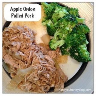 Apple Onion Pulled Pork