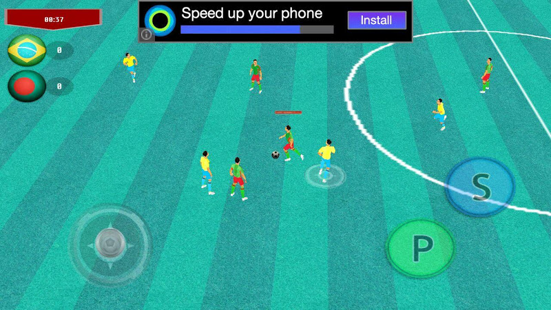 Скриншот Crazy Football 2015