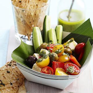 Greek Salad with Lavash