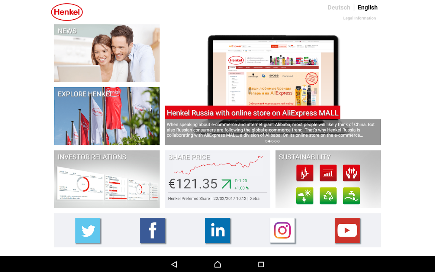 Henkel- screenshot