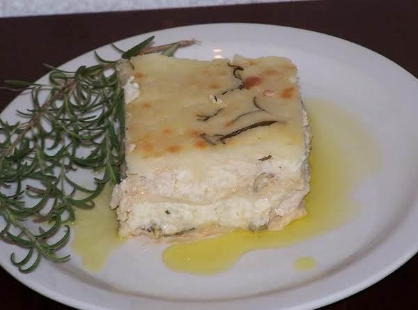 White (chicken  Alfredo) Lasagne Recipe