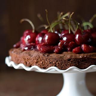 Boozy Chocolate Cherry Cake.