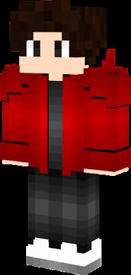 hoodie red | Nova Skin