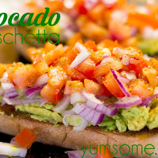 Avocado Bruschetta Recipes