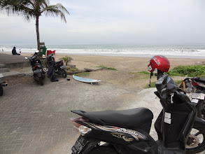 Photo: 1. LEGIAN - ma balade seule en scooter