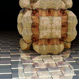MB3D - 754 by Siniša Dalenjak - Illustration Abstract & Patterns