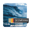 Ocean Waves Clock icon