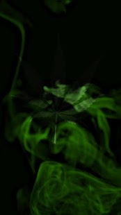 Marijuana Live Wallpaper  - Wispy Smoke FREE- screenshot thumbnail