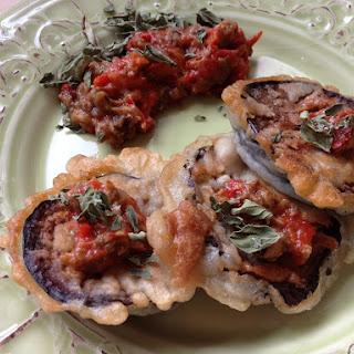 Eggplant Tiganites (Fried Eggplant) Recipe