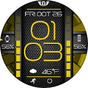 NX 067 spinner color watchface for WatchMaker