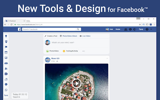 New Tools and Design for Facebook