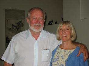 Photo: Hosts Don and Lillian Saari