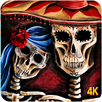 Skull Wallpaper Cool Cute Scary Skull