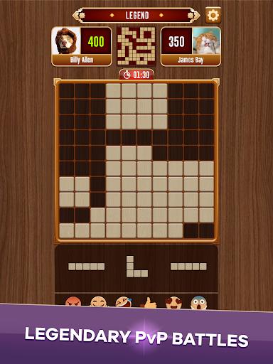 Woody Battle Block Puzzle Dual PvP 3.0.8 screenshots 11