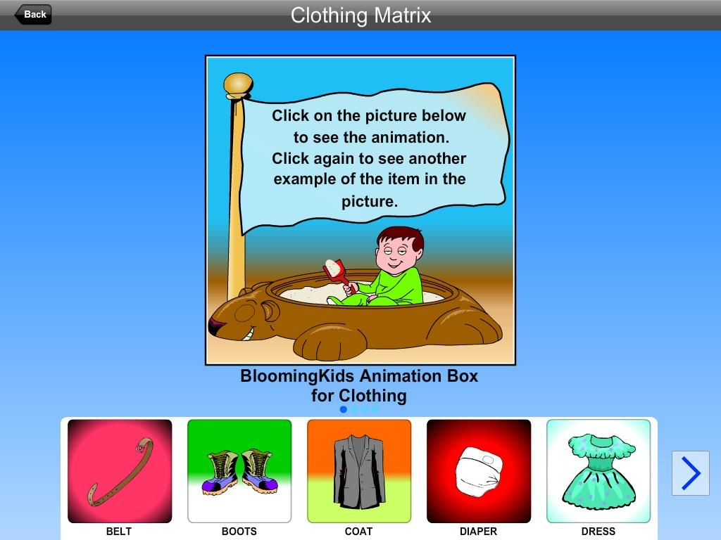 Clothing Matrix Lite Version- screenshot
