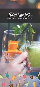 Food Ninjas Cocktails - Snapchat Geofilter item
