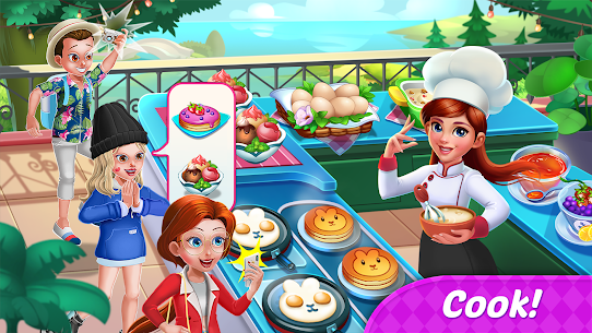Food Diary: Cooking Game and Restaurant Games 2020 1