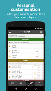 FlashScores Screenshot