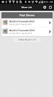 Screenshot of World of Concrete