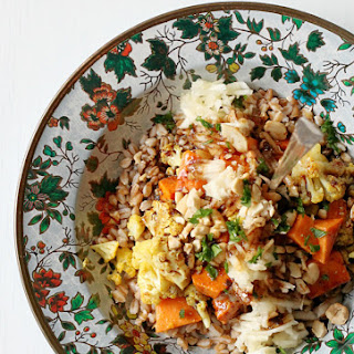 Farro Roasted Vegetable Salad Recipe