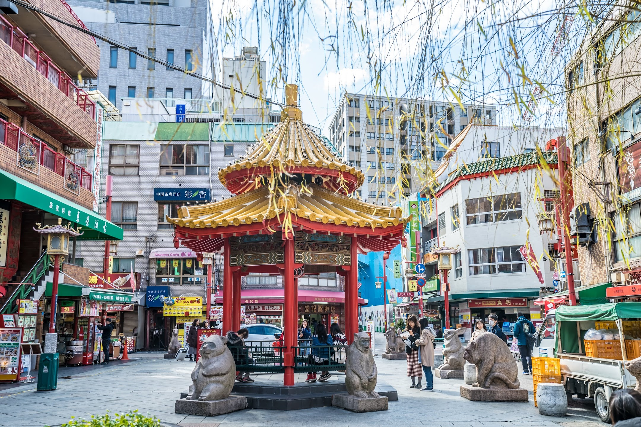 Kobe Nankinmachi Square2