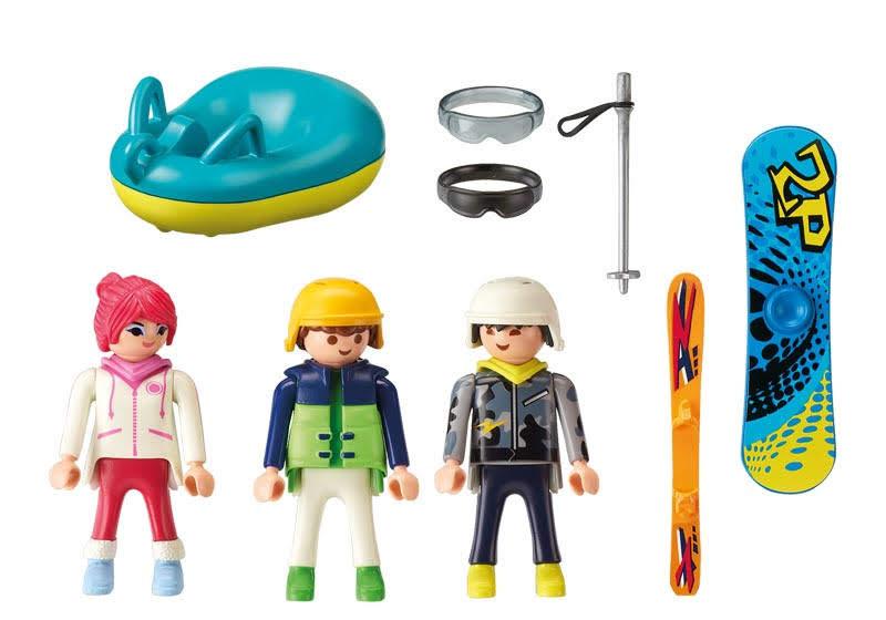 Contenido real de Playmobil® Deportes de Invierno