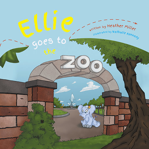 Ellie Goes To The Zoo cover