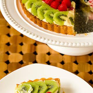 Fresh Fruit Tart with Pastry Cream.